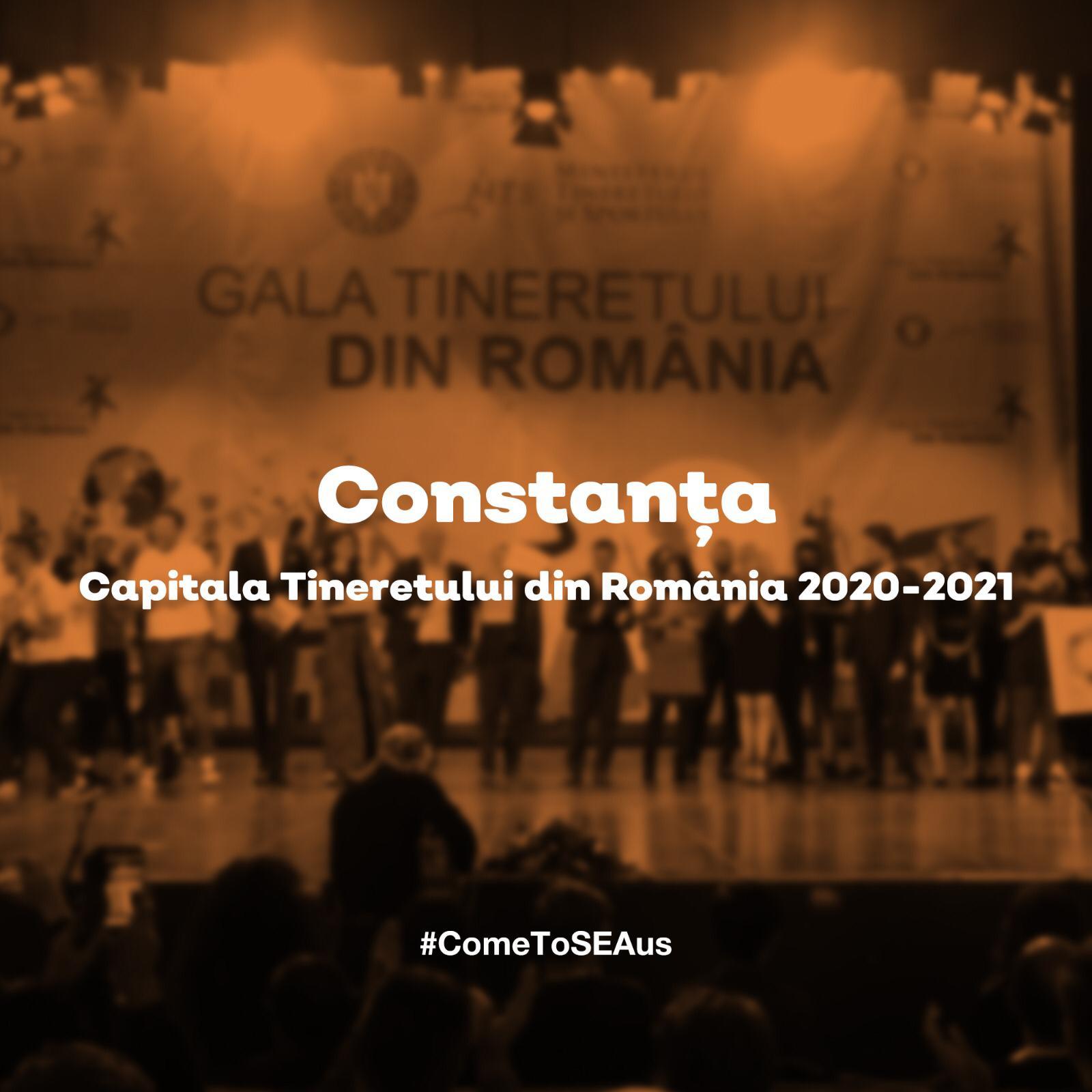 EDIȚIA CONSTANȚA CAPITALA TINERETULUI DIN ROMÂNIA DEMAREAZĂ ÎNCEPÂND DIN 2 MAI 2021