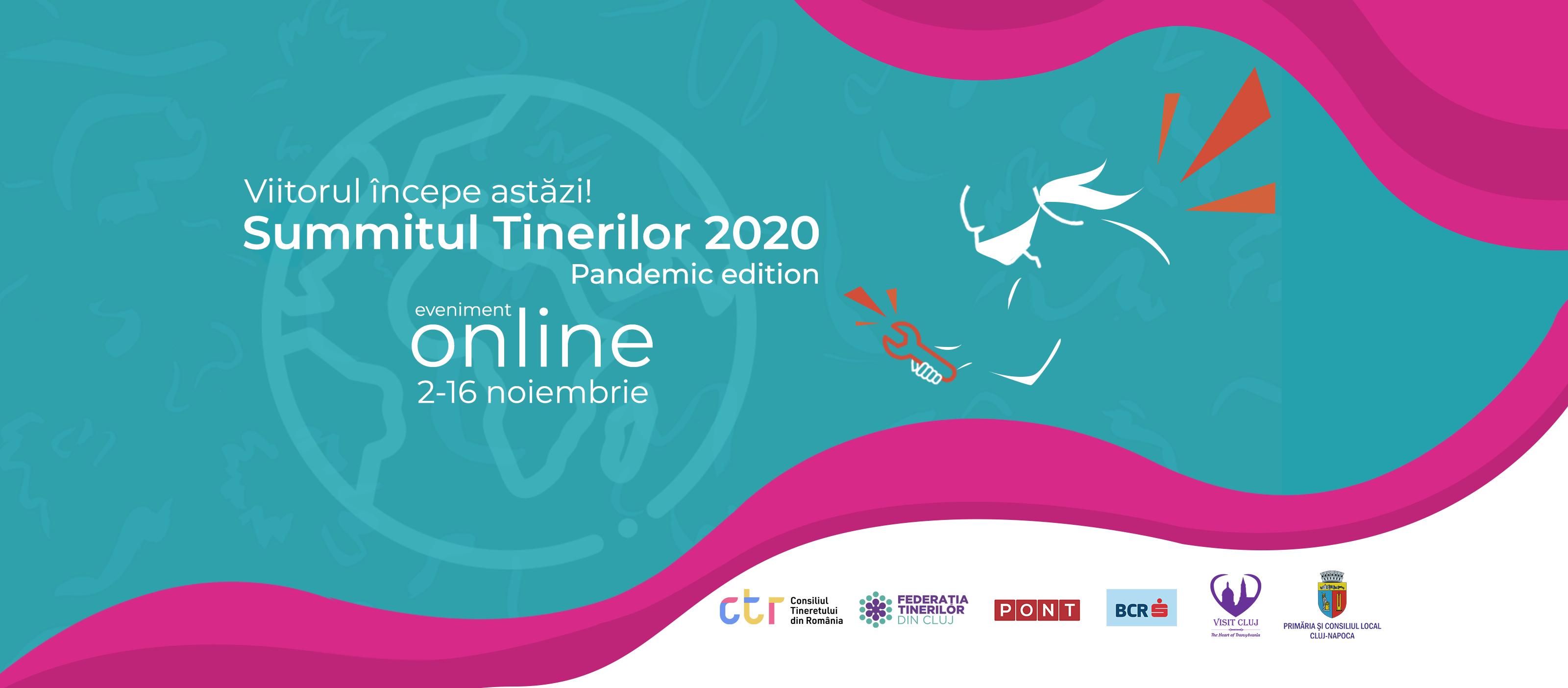 SUMMITUL TINERILOR 2020 – EDIȚIA ANIVERSARĂ SE MUTĂ ONLINE